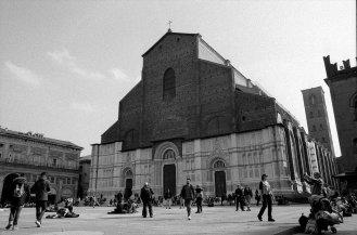 Basilica di San Petronio. Bologna, Italy.