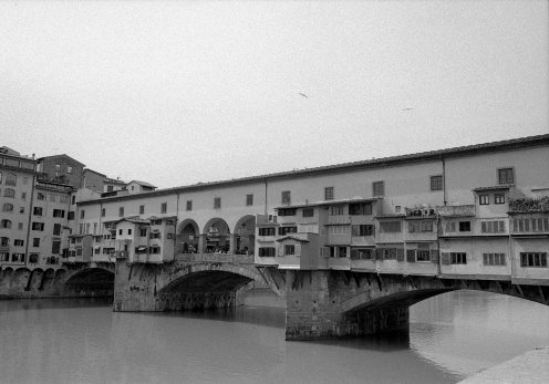 Ponte Vecchio. Florence, Italy.