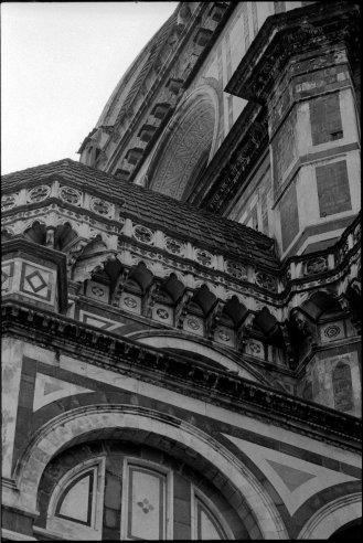 Duomo detail. Florence, Italy.