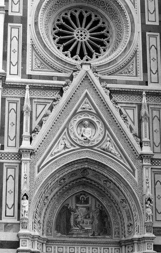 Duomo door detail. Florence, Italy.