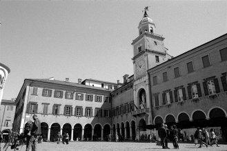 City square. Modena, Italy.