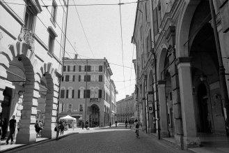 City street. Modena, Italy.