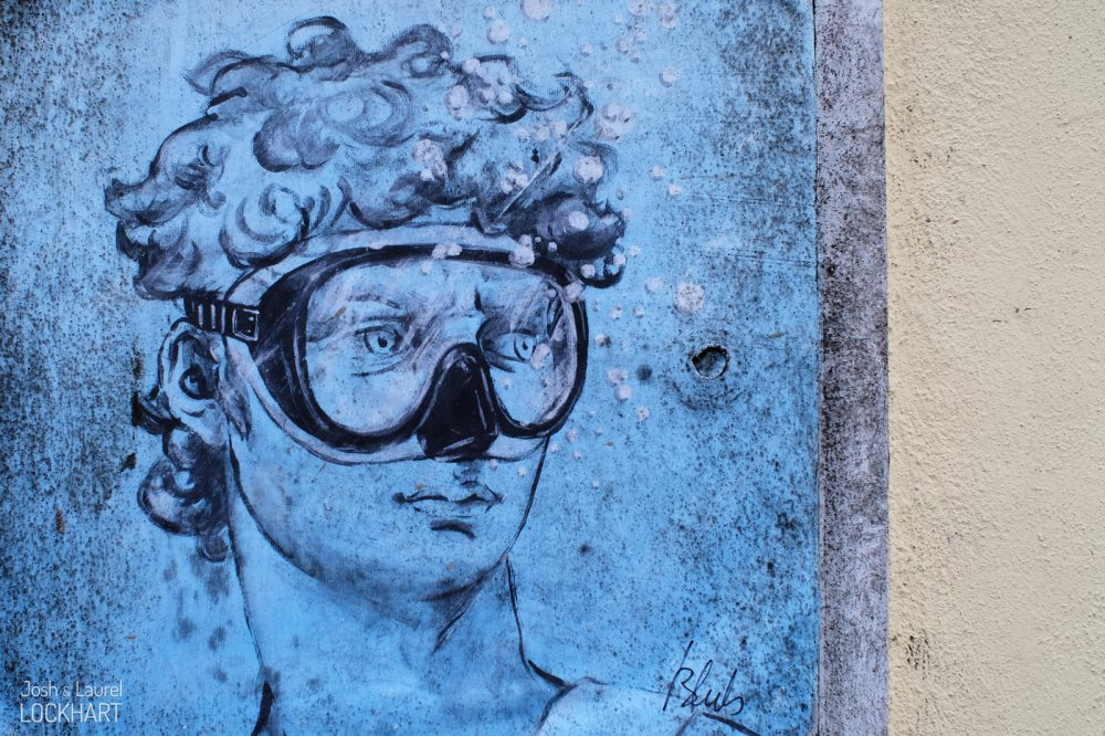 Street Art in Firenze, Italia