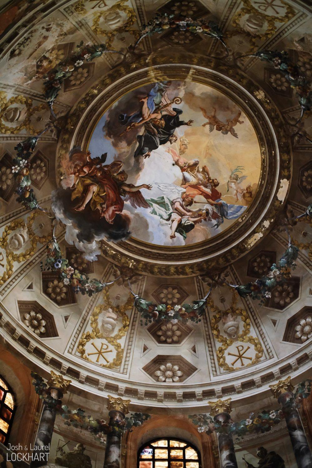 Ceiling of Basilica di San Vitale
